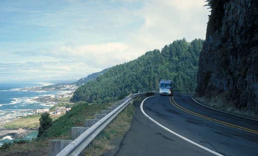 Pacific coast scenic byway 184