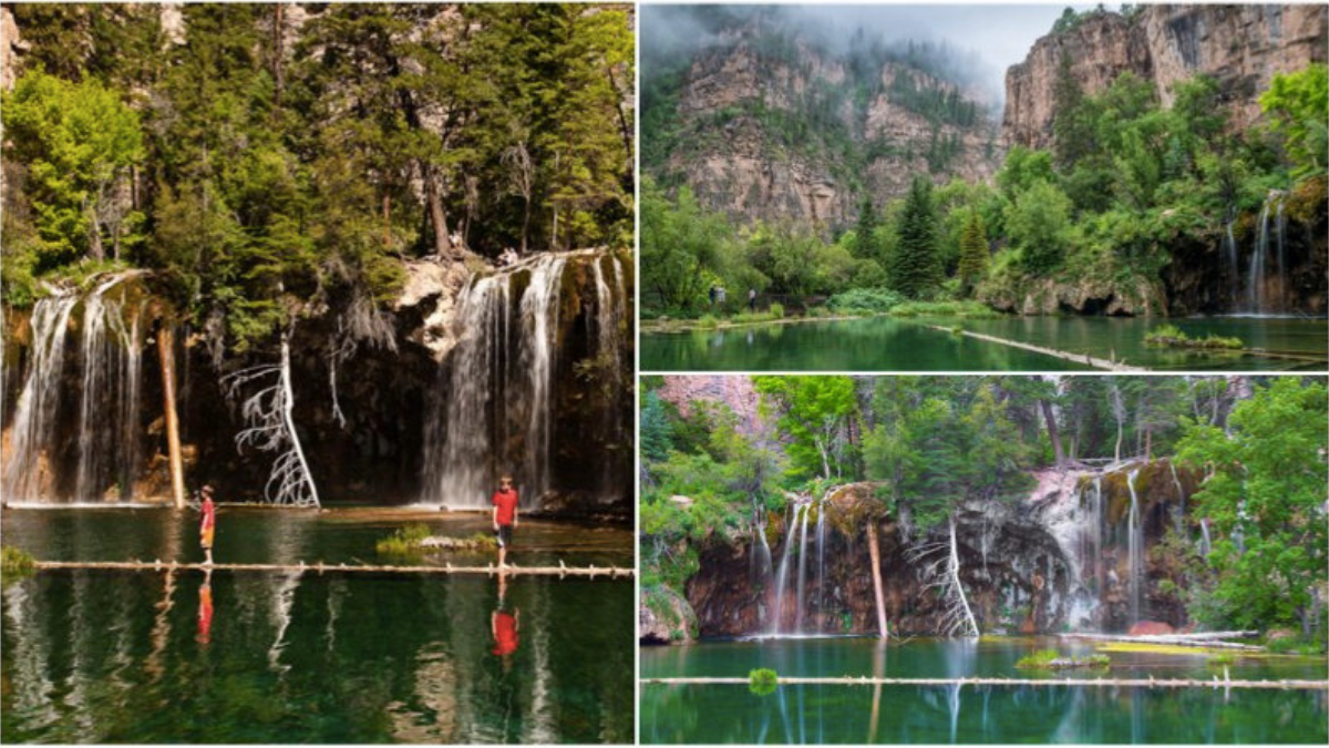 Welcome to Hanging Lake, a dreamy, hidden woodland oasis nestled in a national forest