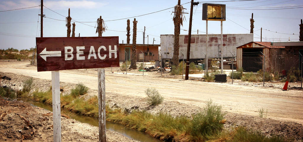 Abandoned Salton Riviera City