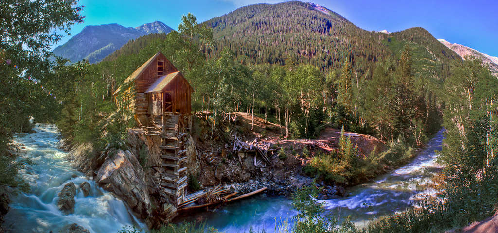 Abandoned Crystal Mill Carbondale Roadtrippers