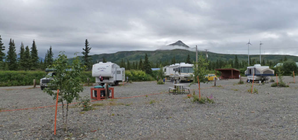 Cantwell RV Park, Campground, Cantwell, Alaska | Womo-Abenteuer