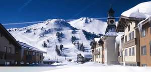 """Mammoth Mountain, """"Top Of The Sierra"""""""