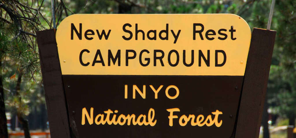 New Shady Rest Campground. New Shady Rest, Mammoth Lakes ...