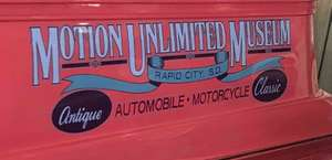 Motion Unlimited Antique & Classic Vehicle Sales And Museum