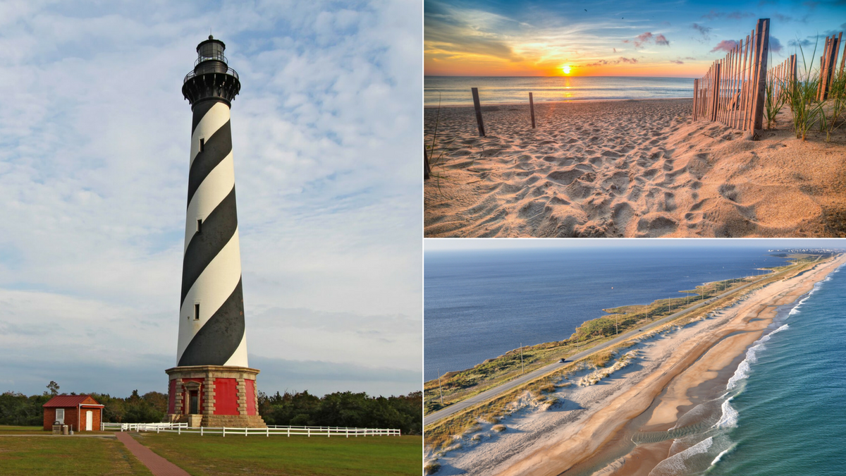 An essential road trip along the Outer Banks Scenic Byway ... on george lighthouses map, new york lighthouses map, puerto rico lighthouses map, buffalo lighthouses map, arizona lighthouses map, pacific coast lighthouses map, new england lighthouses map, seattle lighthouses map, boston lighthouses map,