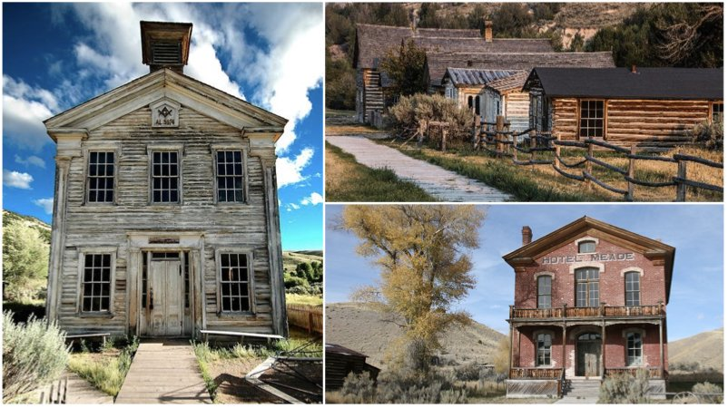 Bannack State Park is home to an amazing ghost town that's frozen in time