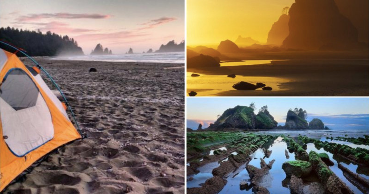 Welcome to America's most drop-dead gorgeous beach campground