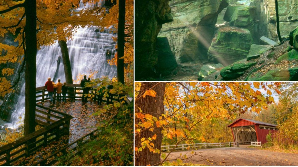Cuyahoga Valley National Park is one of America's dreamiest, rural wonderlands