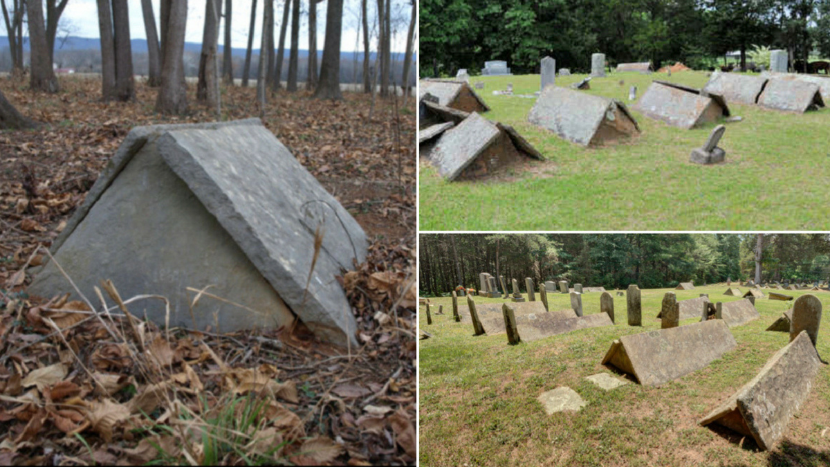 Tennessee S Bizarre Tent Gravestones Roadtrippers