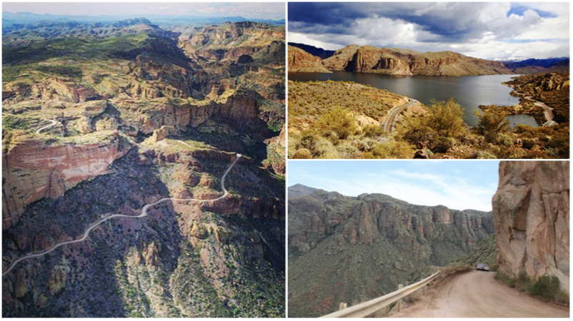 Conquer the Apache Trail: A 120-mile white-knuckle scenic drive through the Superstition Mountains
