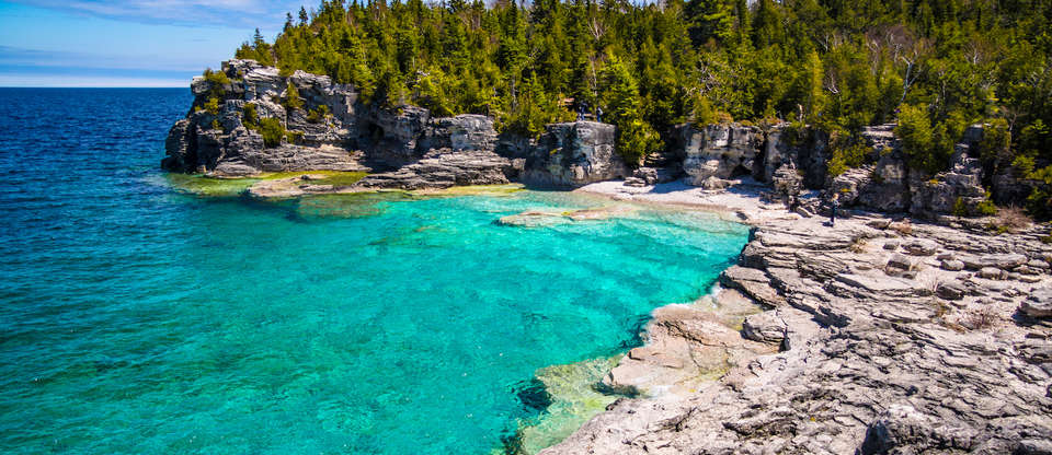 Bruce Peninsula National Park: Grottos, Shipwrecks & Goats