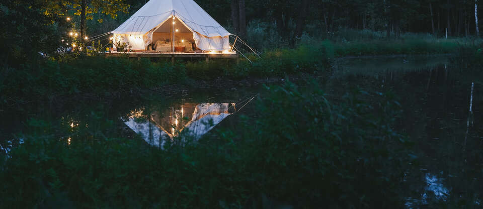 Experience luxurious glamping across the Northeast